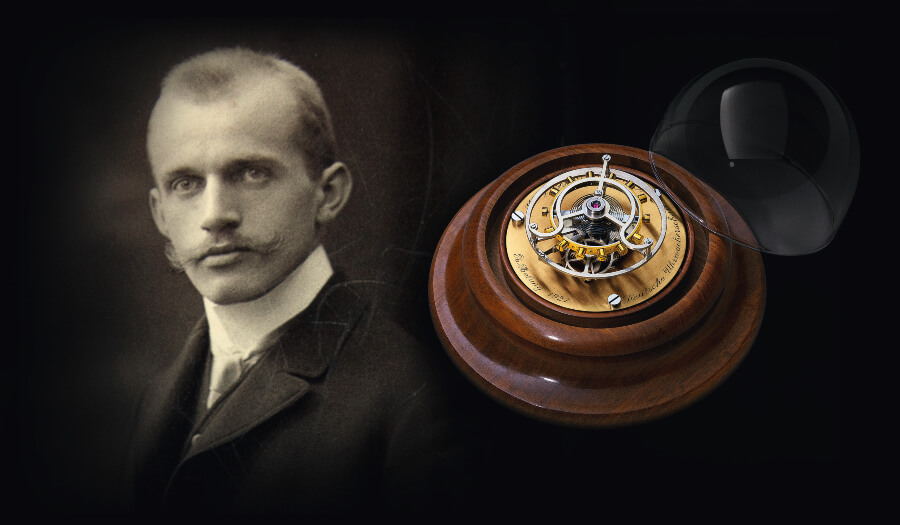 Alfred Helwig and his Flying Tourbillon invention