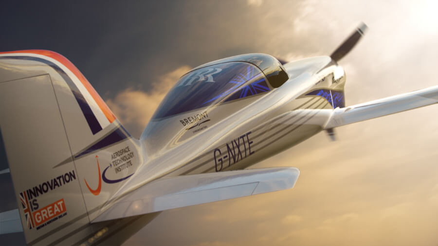 The fastest electric airplane