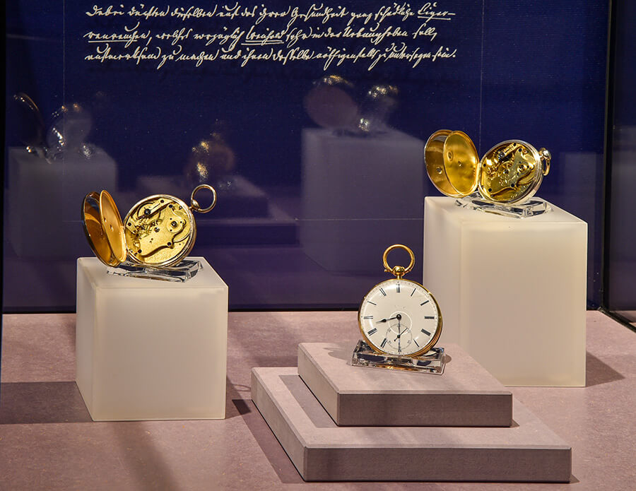 Historic pocket watches