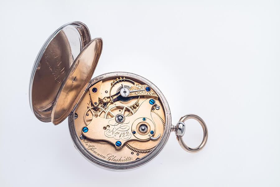 Early Glashutte pocket watch
