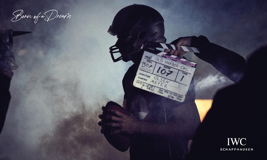Born of a Dream: A Boy from San Mateo - IWC brand ambassador Tom Brady