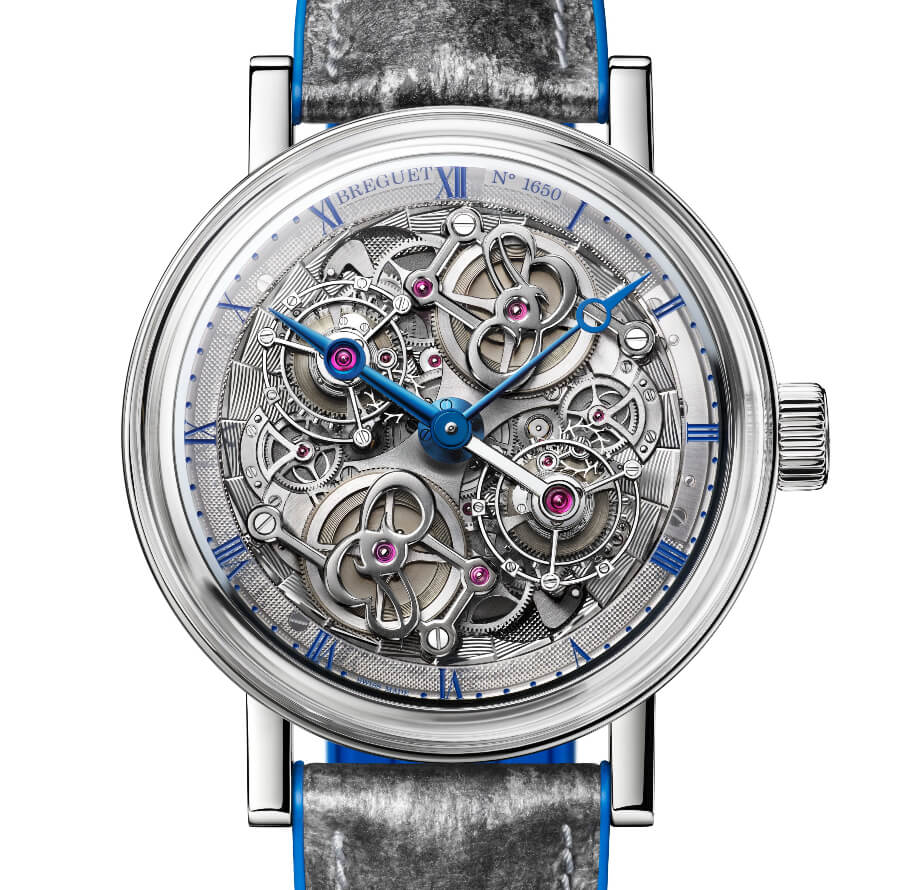 The New Breguet Classique Double Tourbillon 5345 Quai De L'Horloge