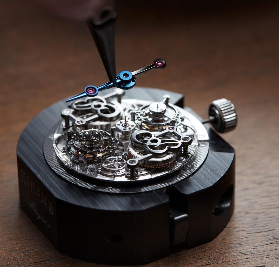 Breguet Classique Double Tourbillon 5345 Quai De L'Horloge In House Movement