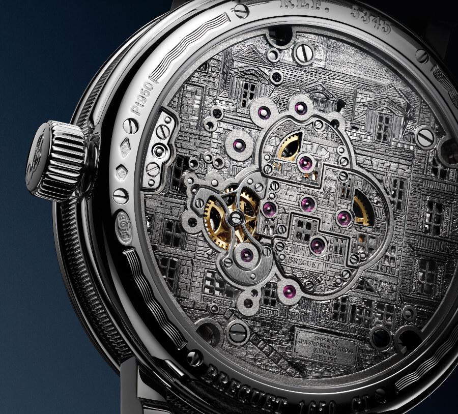 Breguet Classique Double Tourbillon 5345 Quai De L'Horloge Case Back