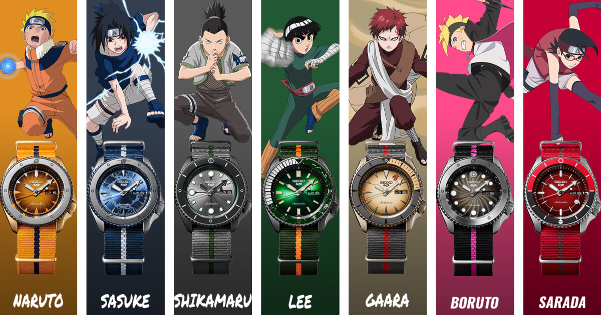 Seiko 5 Sports Naruto & Boruto Limited Edition (Price, Pictures and Specifications)