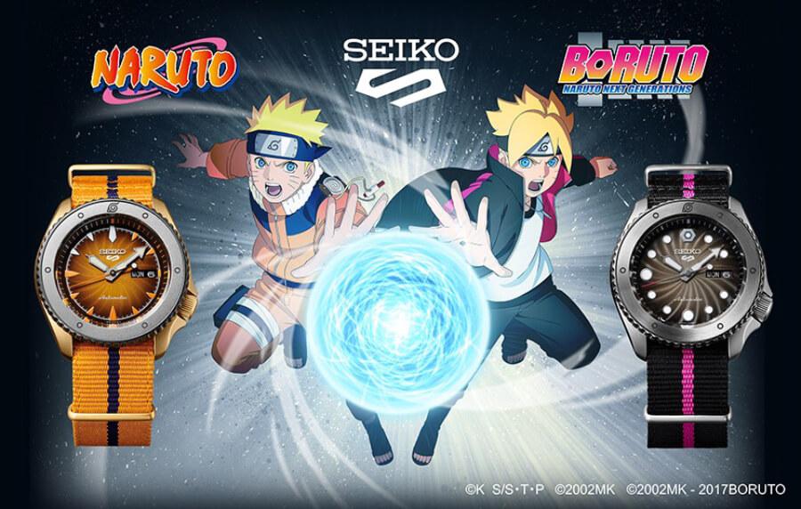 Seiko 5 Sports Naruto & Boruto Limited Edition
