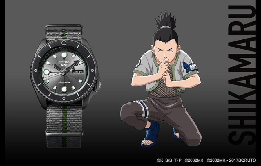Seiko 5 Sports Shikamaru Nara SRPF75K1