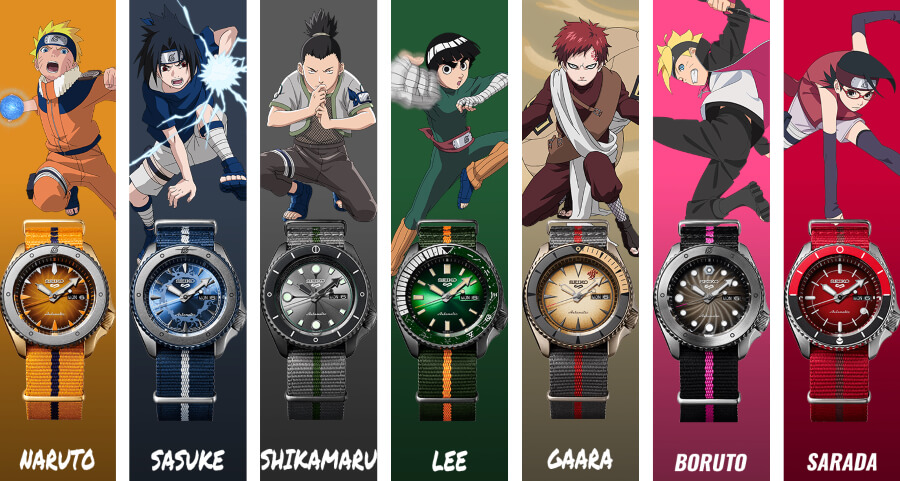 Seiko 5 Sports Naruto & Boruto Limited Edition Watch Review