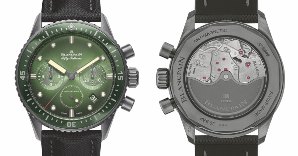Blancpain Bathyscaphe Chronographe Flyback Ref. 5200-0153 Green Dial (Price, Pictures and Specifications)