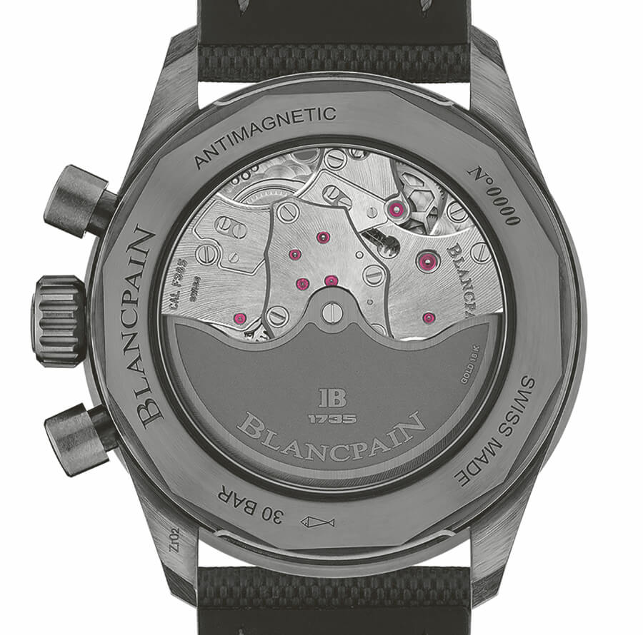 Blancpain Bathyscaphe Chronographe Flyback Green Dial In House Movement