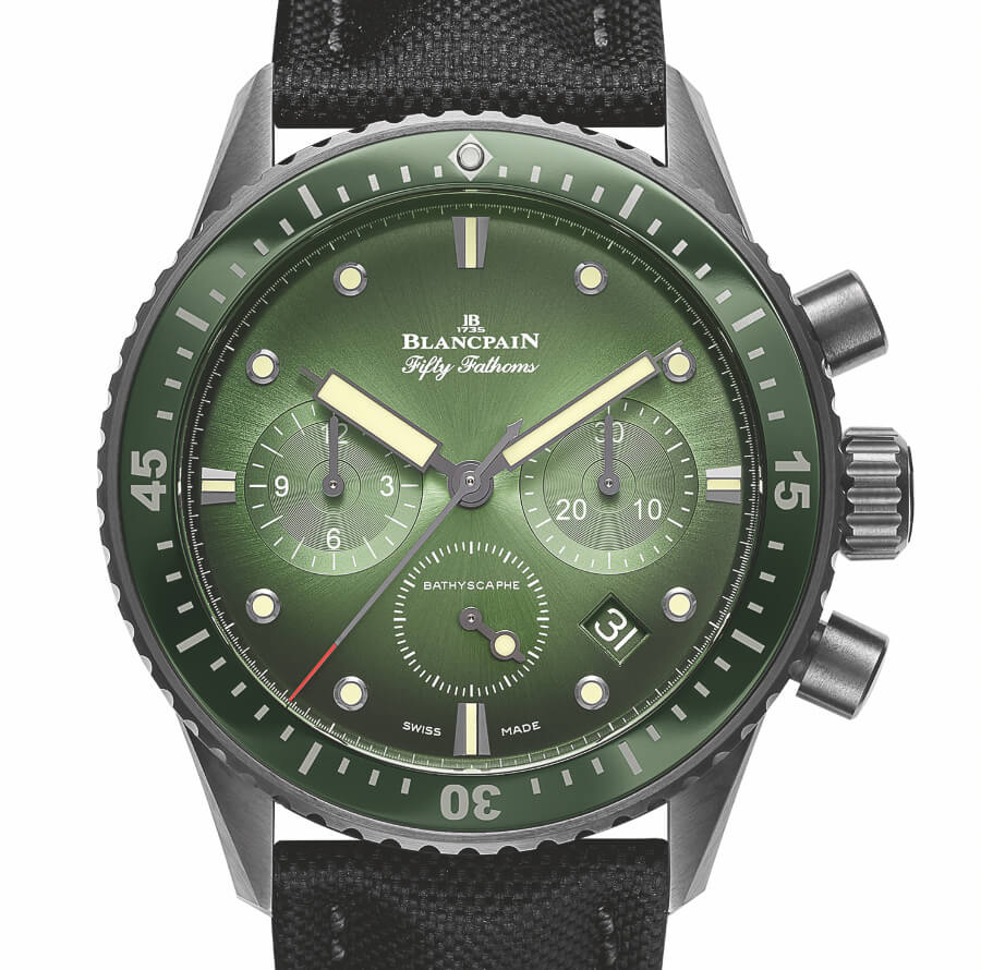 Dive Watch With green dial and bezel