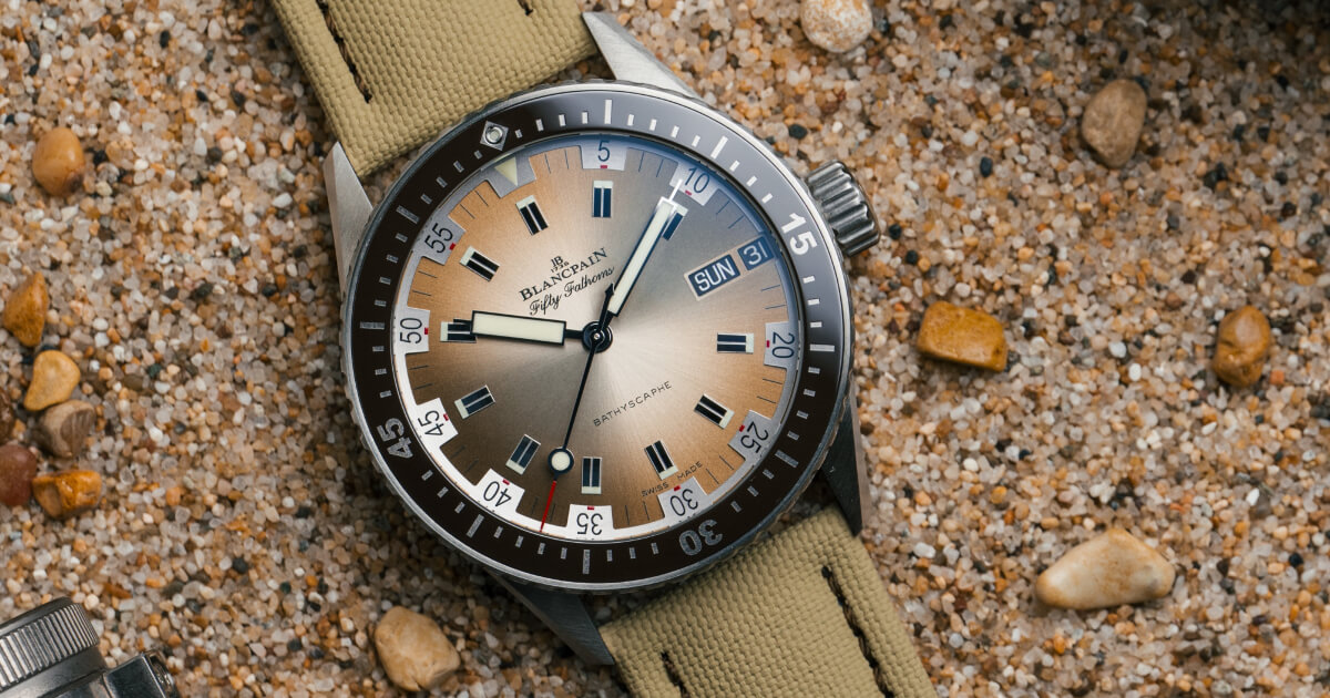 Blancpain Bathyscaphe Day Date Desert Edition (Price, Pictures and Specifications)