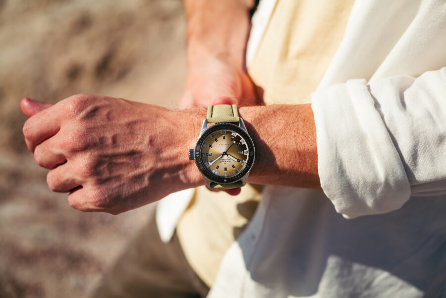 Blancpain Bathyscaphe Day Date Desert Edition Watch Review