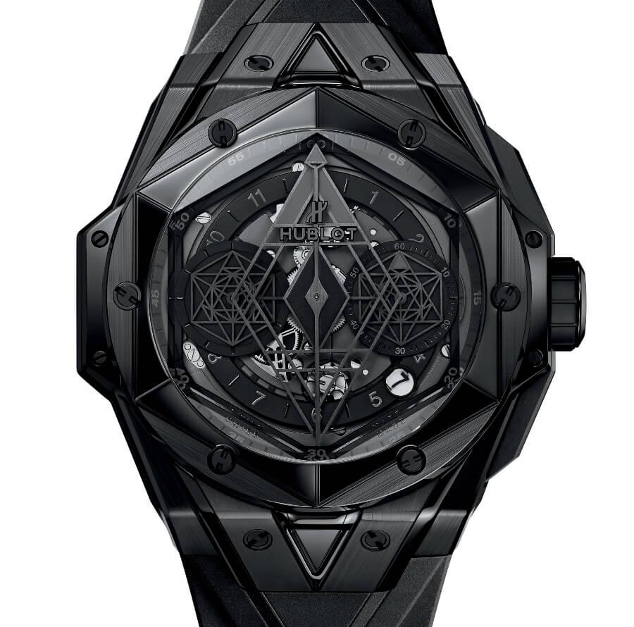 The New Hublot Big Bang Unico Sang Bleu II All Black