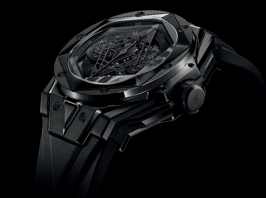 Hublot Big Bang Unico Sang Bleu II All Black Watch Review