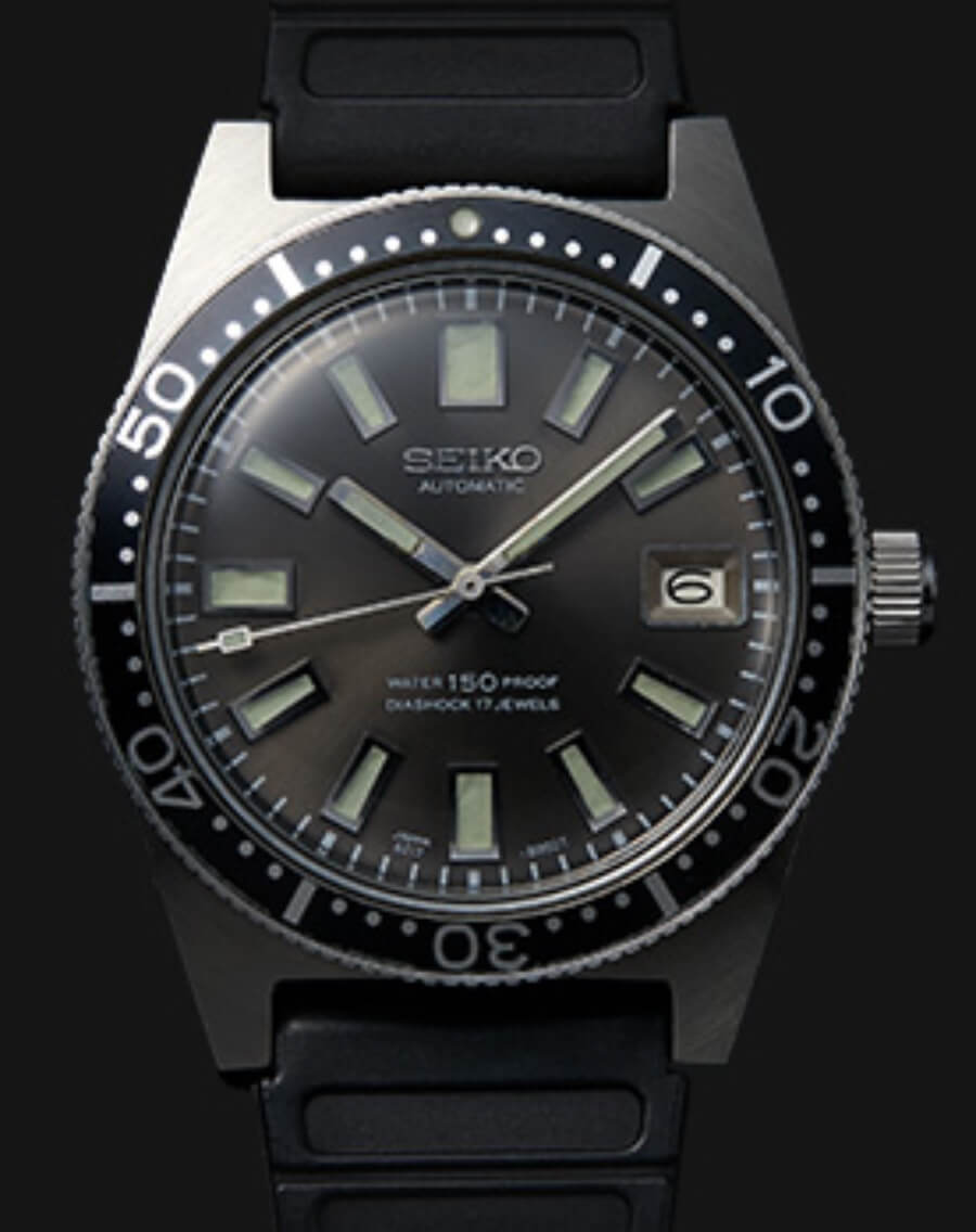 The Seiko 1965 Diver's Original model