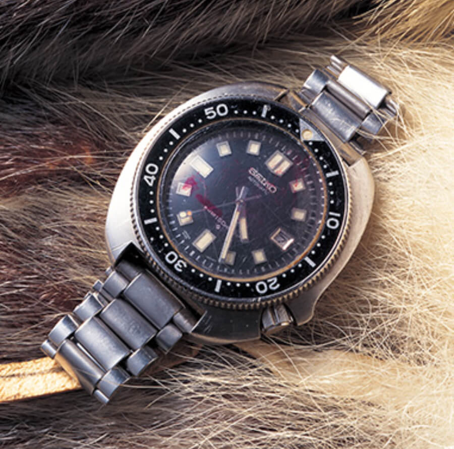The watch used by Naomi Uemura  on his 18 month Arctic journey
