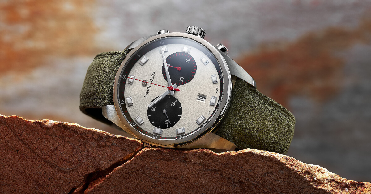 The New Favre-Leuba Sky Chief Chronograph (Price, Pictures and Specifications)