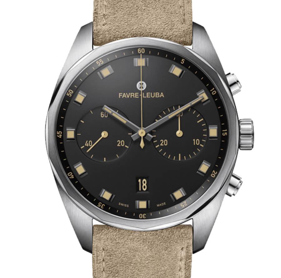 The New Favre-Leuba Sky Chief Chronograph