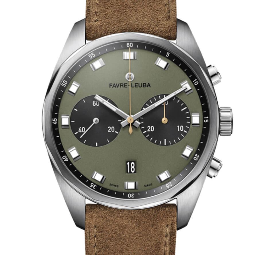 Favre-Leuba Sky Chief Chronograph Green Dial
