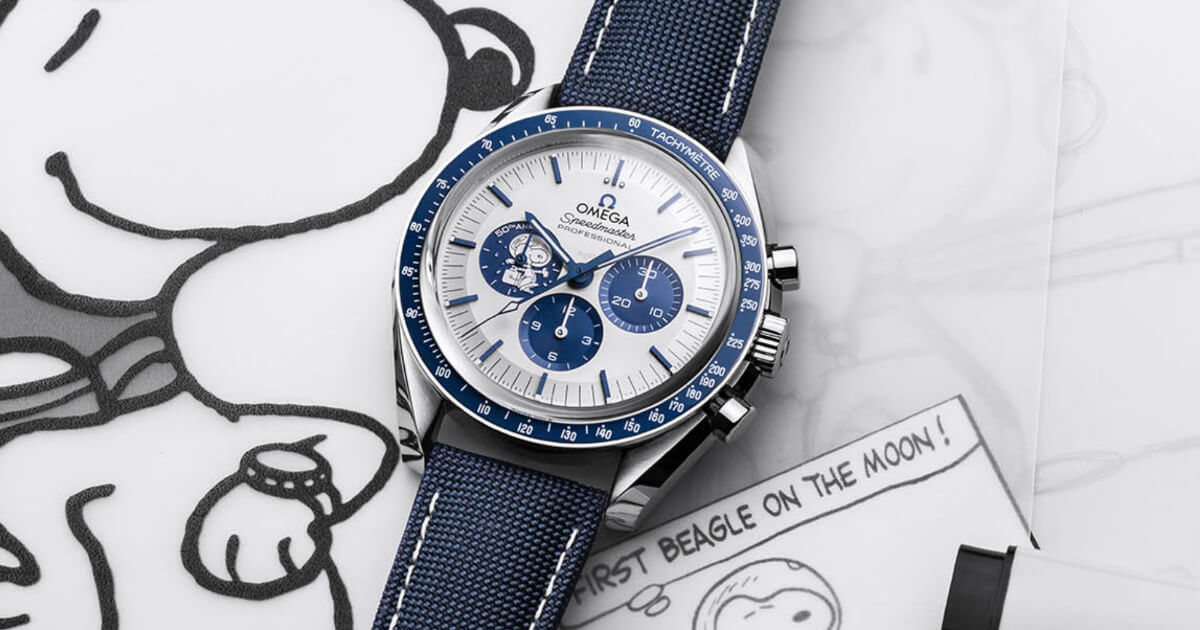 """Introducing The Omega Speedmaster """"Silver Snoopy Award"""" 50th Anniversary (Price, Pictures and Specifications)"""