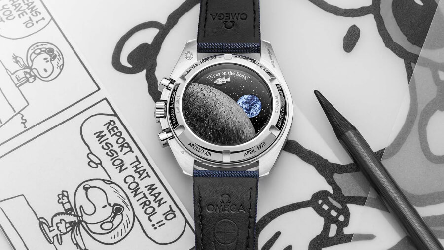 """Omega Speedmaster """"Silver Snoopy Award"""" 50th Anniversary Watch Review"""