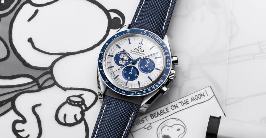 """Omega Speedmaster """"Silver Snoopy Award"""" 50th Anniversary Ref. 310.32.42.50.02.001 Watch Review"""
