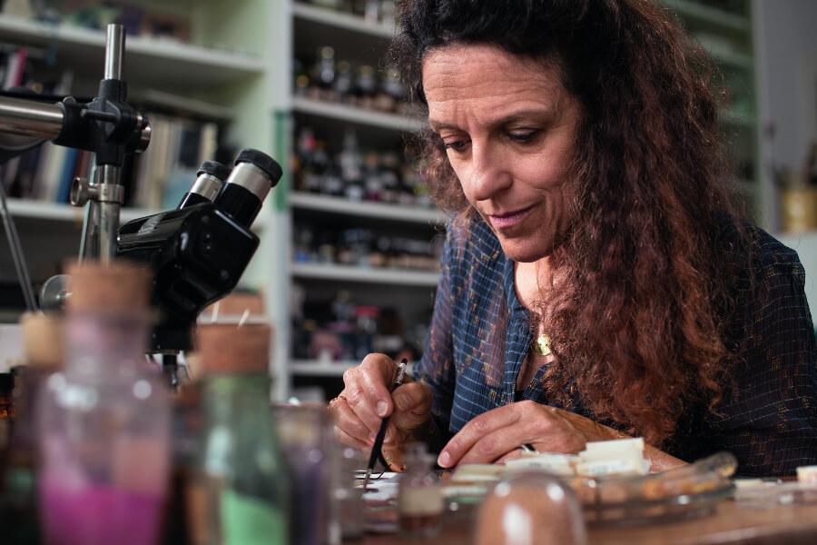 Anita Porchet, Swiss Enameller