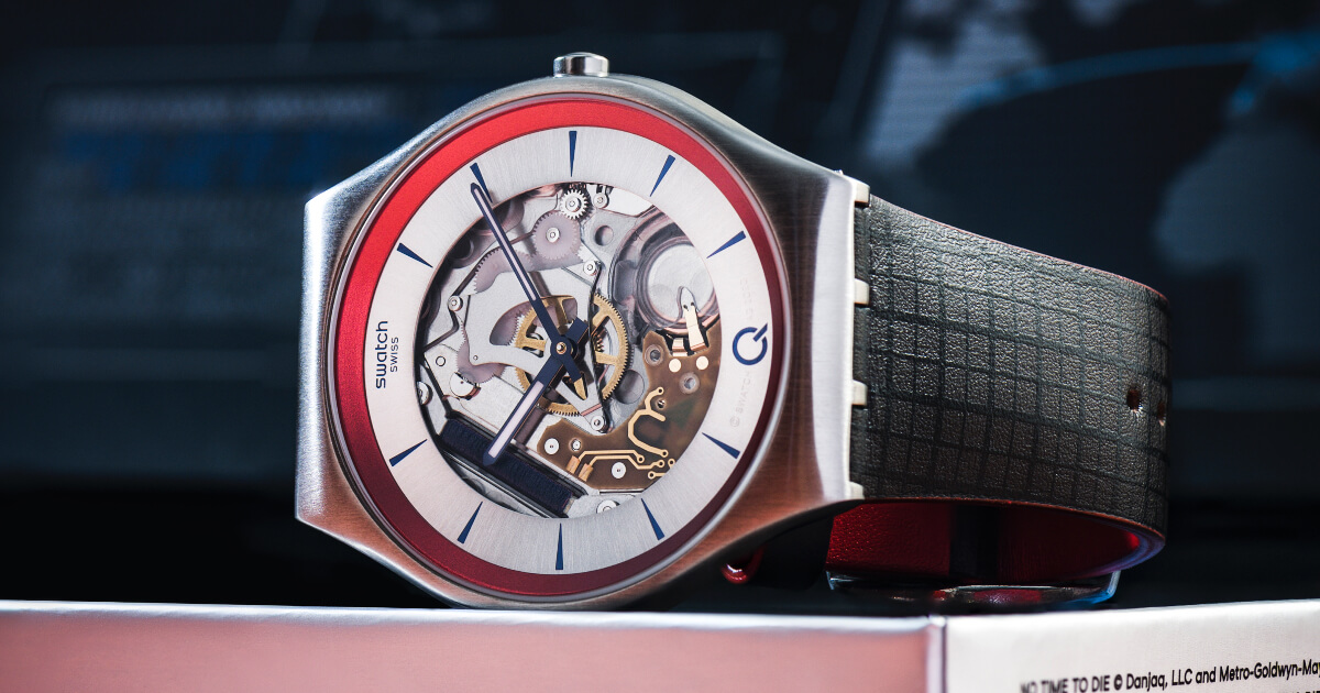 """Swatch ²Q for """"No Time to Die""""(Price, Pictures and Specifications)"""