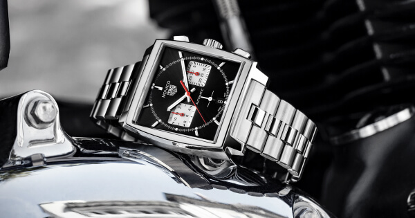 TAG Heuer Monaco Chronograph 39 mm Calibre Heuer 02 Automatic On Bracelet (Price, Pictures and Specifications)