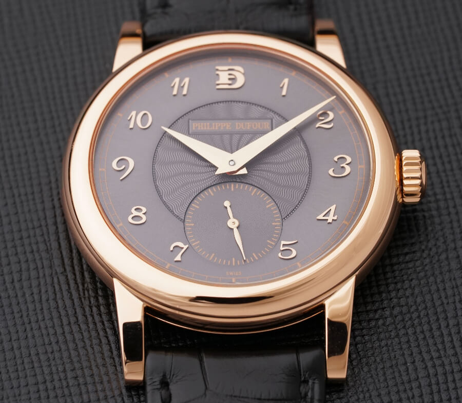 Philippe Dufour Simplicity 20th Anniversary Model In Rose Gold Number 00/20 watch Review