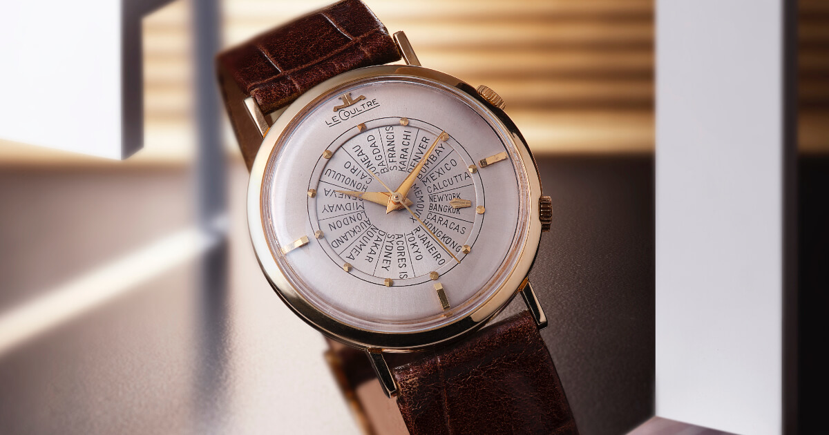 Jaeger-LeCoultre Presents Landmark Timepieces From Its Heritage Collection