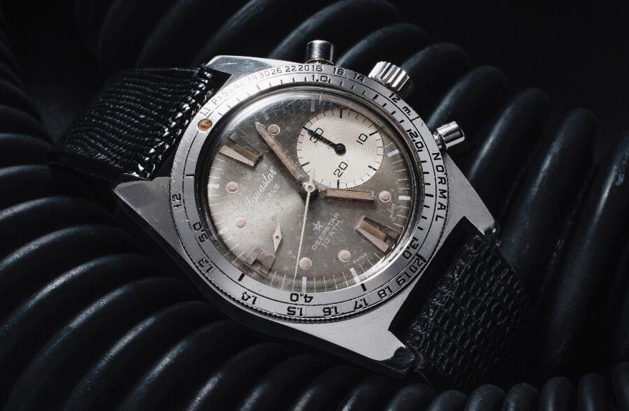Vintage Aquastar Chronograph