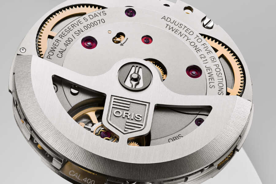 Oris Calibre 400 10 days Power Reserve Watch Movement