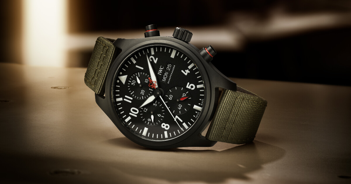 "IWC Pilot's Watch Chronograph Top Gun Edition ""SFTI"" (Price, Pictures and Specifications)"