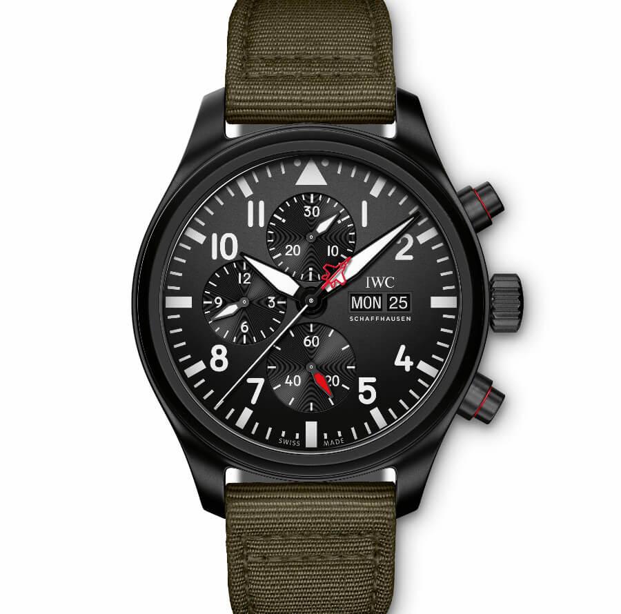 "The New IWC Pilot's Watch Chronograph Top Gun Edition ""SFTI"""