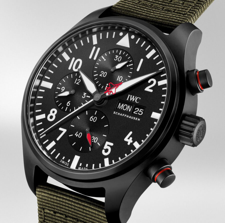 "IWC Pilot's Watch Chronograph Top Gun Edition ""SFTI"" Ref. IW389104"