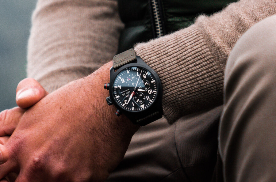 "IWC Pilot's Watch Chronograph Top Gun Edition ""SFTI"" Ref. IW389104  Watch Review"