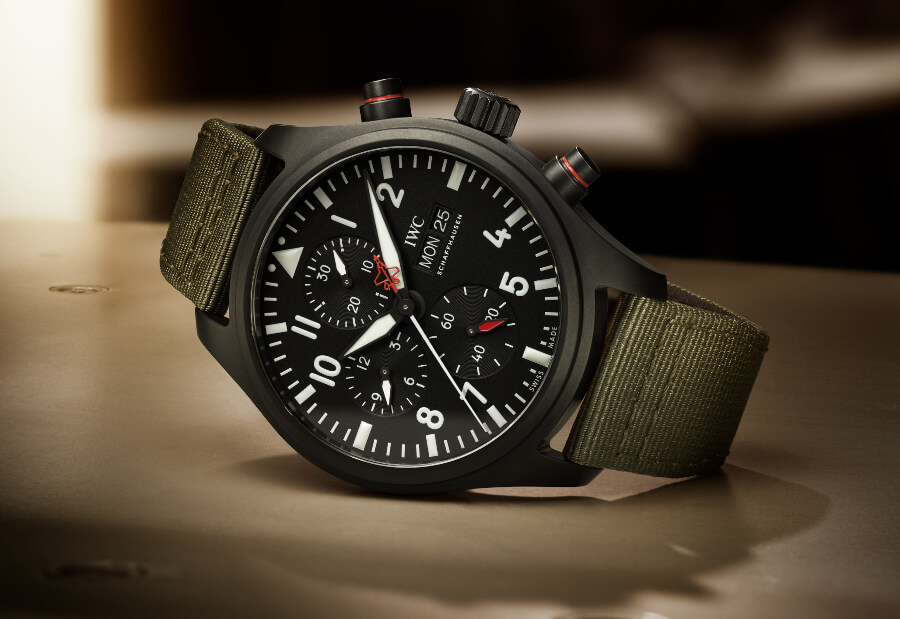"IWC Pilot's Watch Chronograph Top Gun Edition ""SFTI"" Watch Review"