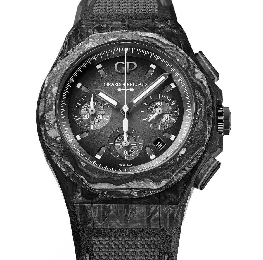 The New Girard-Perregaux Laureato Absolute Crystal Rock