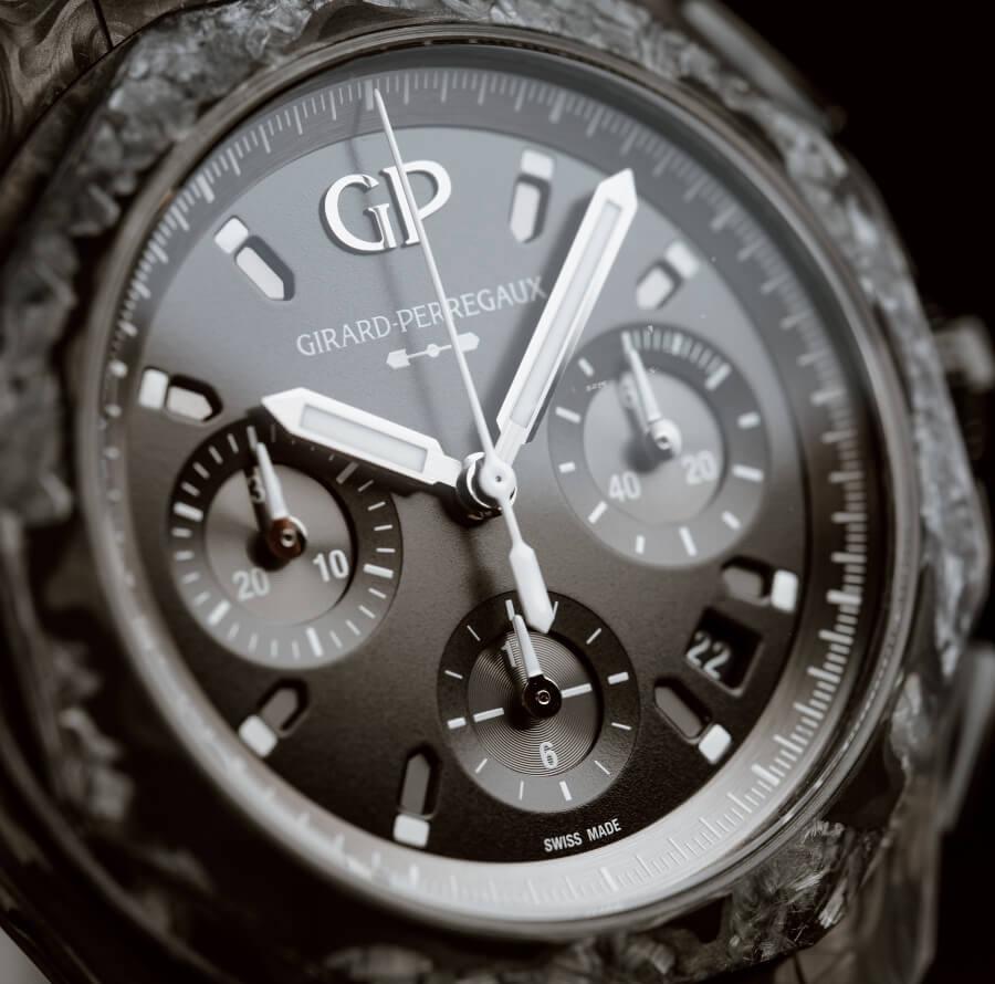 Girard-Perregaux Laureato Absolute Crystal Rock Dial