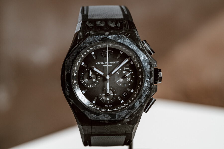 Girard-Perregaux Laureato Absolute Crystal Rock Watch Review
