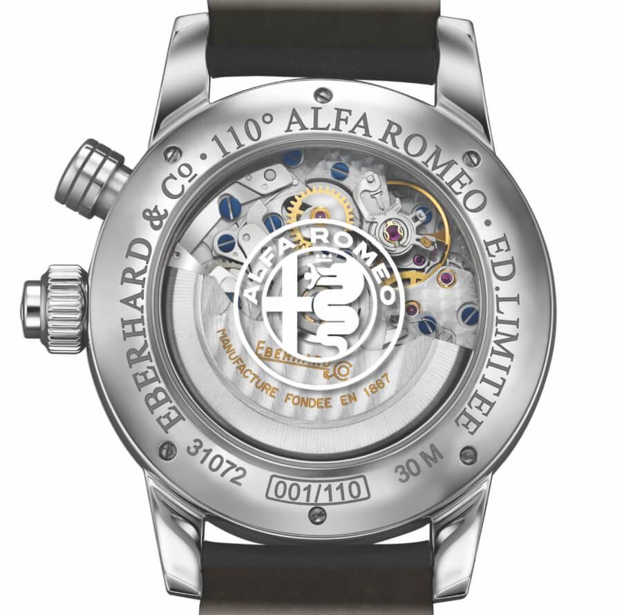 Eberhard & Co. 110th Alfa Romeo Anniversary Chronograph Limited Edition In House Movement