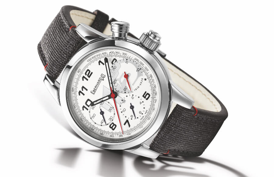 Eberhard & Co. 110th Alfa Romeo Anniversary Chronograph Limited Edition Watch Review