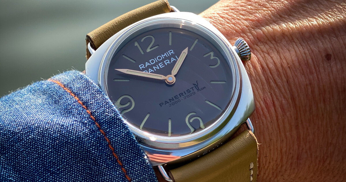 Panerai Radomir Venti PAM02020 (Price, Pictures and Specifications)