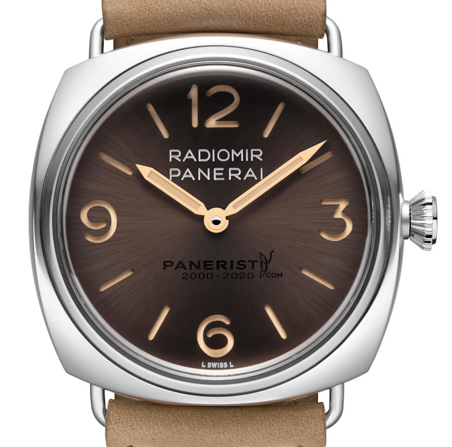 The New Panerai Radomir Venti 45 mm PAM02020
