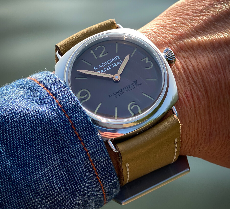 Panerai Radomir Venti 45 mm PAM02020 Watch Review