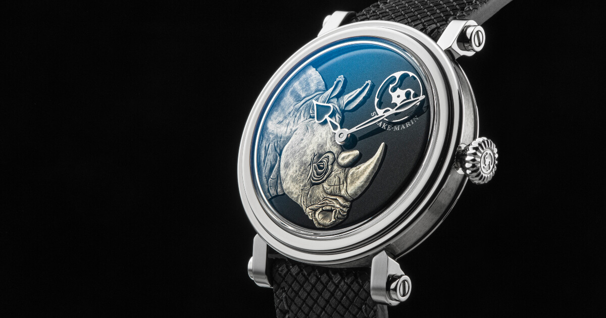 Speake-Marin Art-Series Rhinoceros (Price, Pictures and Specifications)
