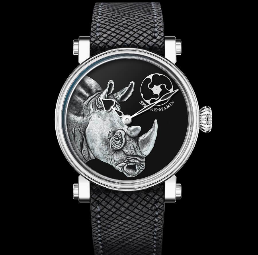 Speake-Marin Art-Series Rhinoceros 38 mm