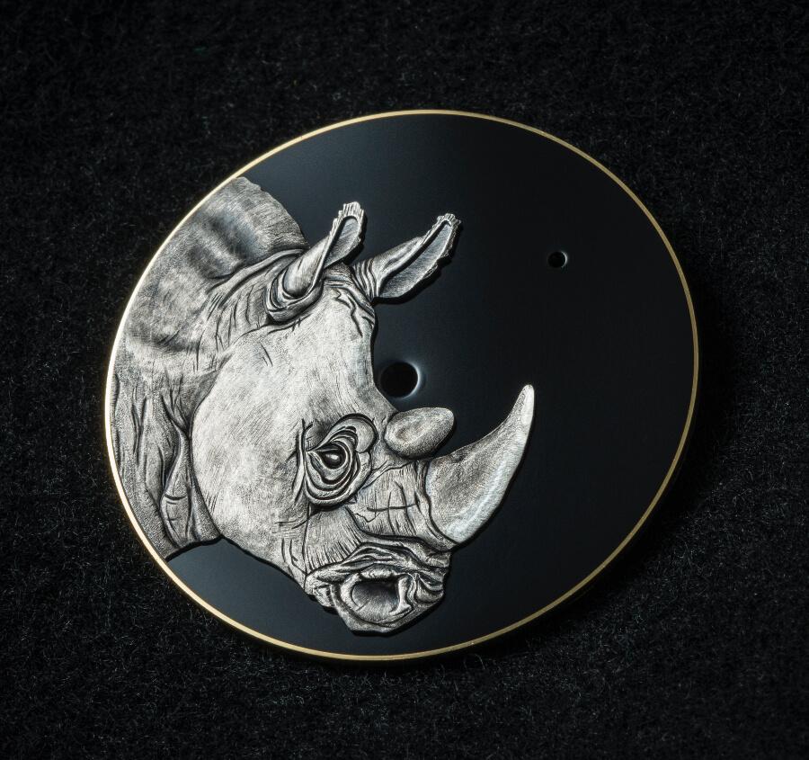 Speake-Marin Art-Series Rhinoceros Dial